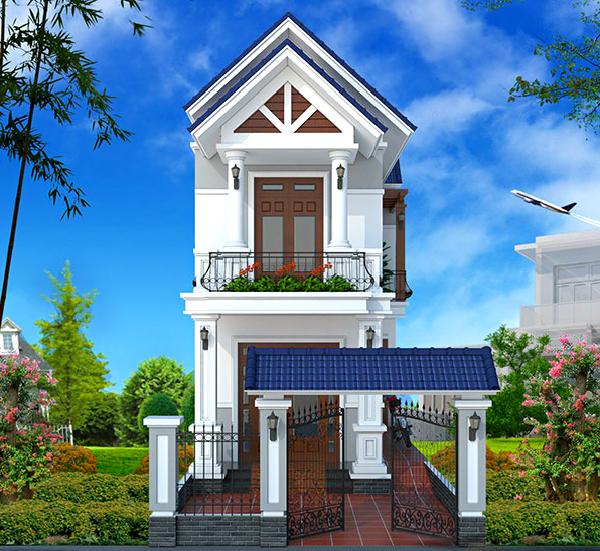 Những mẫu nhà phố đẹp 1 tầng đẹp và tối ưu chi phí xây dựng