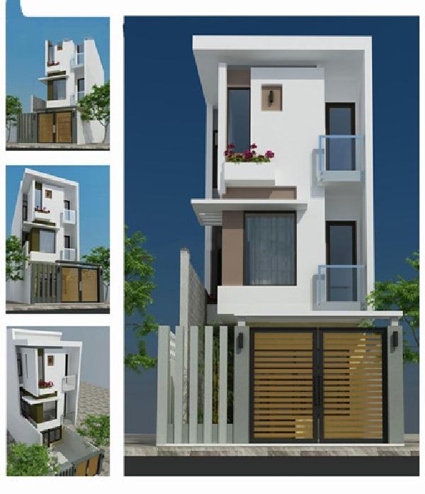 Những mẫu nhà phố đẹp 2 tầng mang phong cách hiện đại