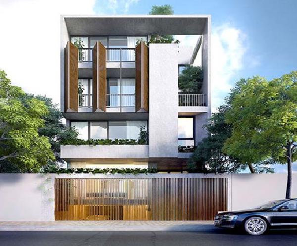 Những mẫu nhà phố đẹp 2 tầng thêm vẻ phóng khoáng và thoải mái