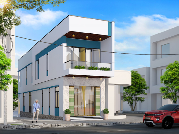 Mẫu nhà phố 1 tầng phù hợp với nhu cầu của nhiều người