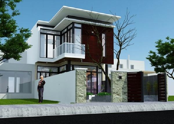Những mẫu nhà phố đẹp 1 tầng cực sang trọng