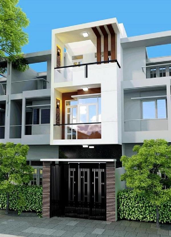 Ngôi nhà có cấu trúc 3 tầng rộng thoáng